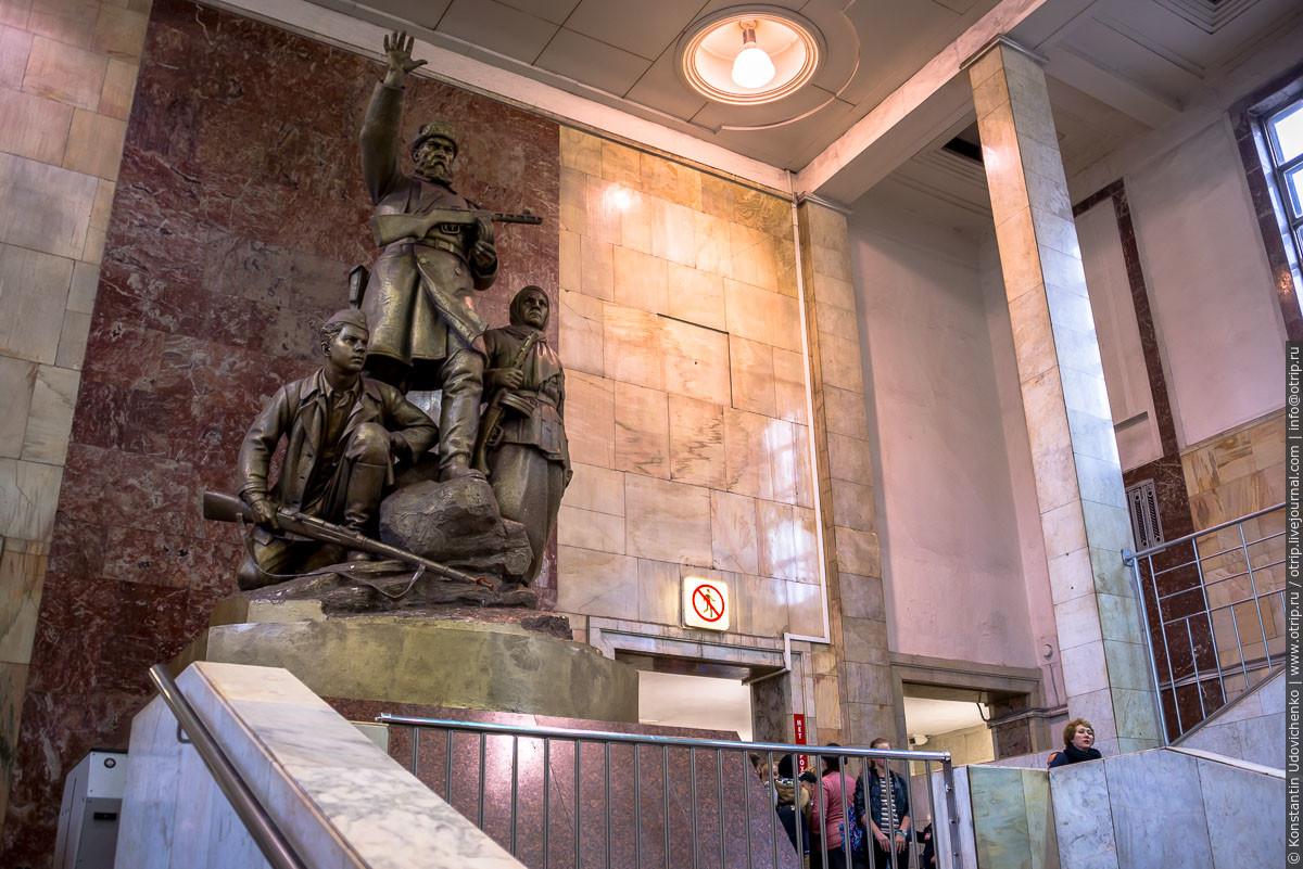 """img9137s.jpg - Поезд-галерея """"Акварель"""" в Московском метро (27.09.2016)"""