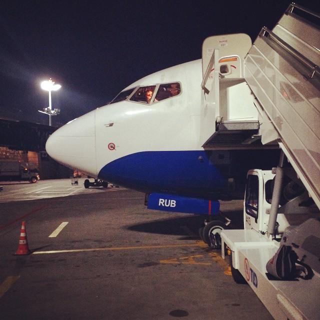 Аэропорт Внуково. Готовимся к взлету.