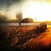 За окном не жарко сегодня... #window #winter #road #art