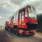 Поляки куда-то трамвай везут. #QdF2013