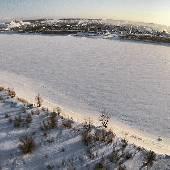 Замерзший Иртыш. #nynordexp