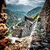 Форт Либерия (Fort Libèria) прикрывает долину, в которой расположен город Вильфранш-де-Конфлан. Прикрывает знатно, дядька Вован постарался на славу. Всеж это одно из лучших мест, где мы были во время...