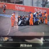 Старт Формулы-1. Не удержались и устроили замес в повороте. #f1sochi #f1sochi2015 #f1otrip #russiangp #f1 #formula1 #sochiautodrom