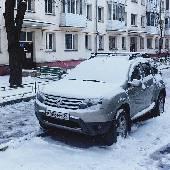 Уже знакомая нам дастеро-индикация погоды. В Москве нынче снег и вроде как зима.