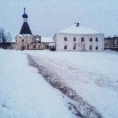 Духовное училище и Церковь Евфимия. #3DLacBlanc
