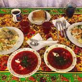 Пока мы тут вам фотки постим, подоспел ужин... из Лося. :) аж сам себе завидую, представляю каково по ту сторону инстаграма. #3DLacBlanc