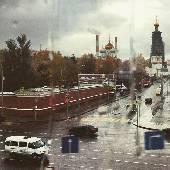 Мокре... в Москве осень, чо...