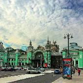 Белорусский вокзал. Просто проходил мимо... я, а не вокзал. :)