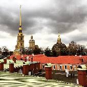 Петропавловский собор. Ну, все как обычно. #spbint2018