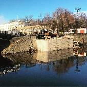 А мост разобрали. #spbint2018