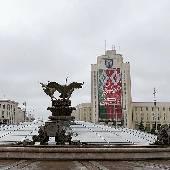 Минск пасмурный. #otripmay2019