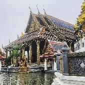 Домик нефритового Будды. Самого Будду снимать нельзя. #thaiotrip