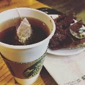 Нормальный чай! Спасибо Старбакс! Впервые за две недели в Таиланде. #thaiotrip