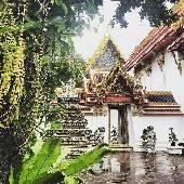 Этот храм считается родиной тайского массажа, но это не точно и скорее всего трындёж для туристов. #thaiotrip