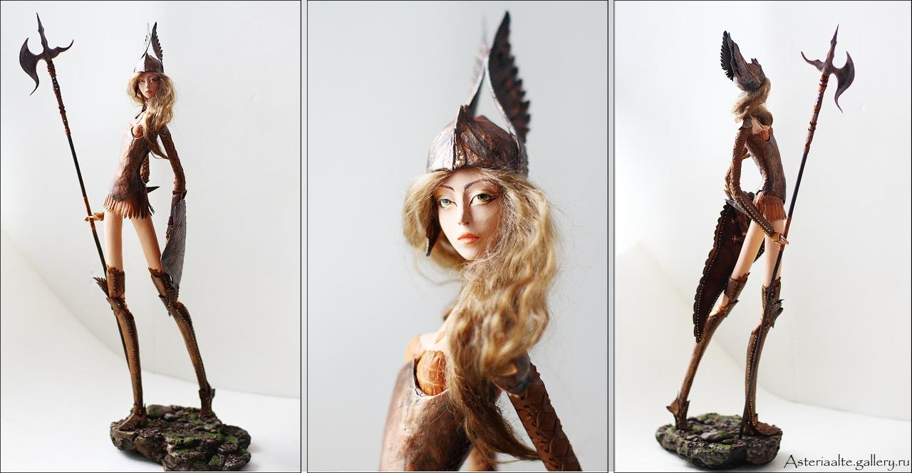 Как сделать куклу из папье 363